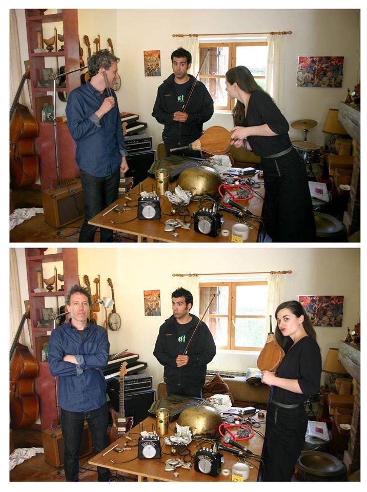 Jason Victor, Naiel Ibarrola y Ainara LeGardon. En familia.