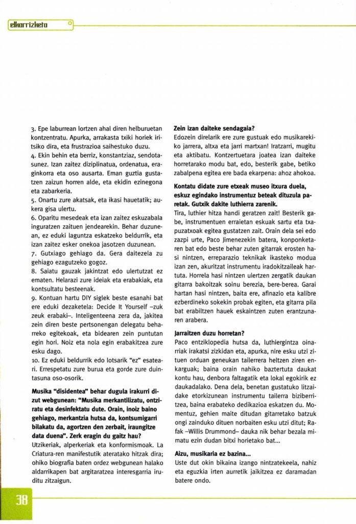 Decálogo del DIY Ainara LeGardon para Gaztezulo