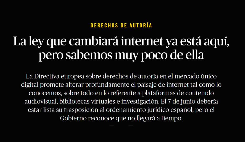 Reportaje El Salto